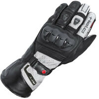 Held Air N Dry Waterproof Gore-Tex Motorcycle Motorbike Glove Black Gry Size 7 S