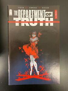 Department of Truth #1 (Image, 2020) 1:50 Mirka Andolfo Variant Edition