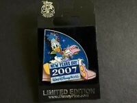 WDW - New Year's Day 2007 - Donald and Daisy Duck SOLD OUT LE Disney Pin 51746