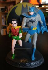 1 BATMAN AND ROBIN - HALLMARK 1996 DC Collection GOLDEN AGE Figurine DYNAMIC DUO