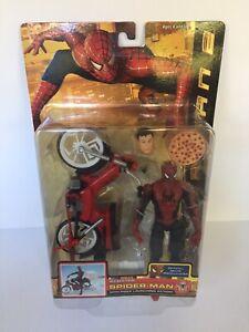 ToyBiz Spider-man 2 Pizza Scooter Spider-Man Action Figure