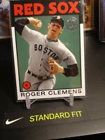 Roger Clemens 2021 Topps Series 1 '86 Reprint Boston Red Sox MLB 86B-40