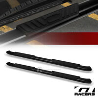"""For 2009-2014 Ford F150 Super Crew Cab 5"""" Black Oval Bent Side Step Nerf Bars hd"""