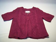 American Eagle Outfitters Cable Knit Button Down Cardigan Sweater Women's Size L