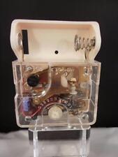 Vintage Japan 76-11 Battery Operated Mechanical Clock Movement restoration part