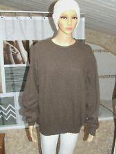 Superbe pull marron 100 % laine taille 48 /  50 parfait état