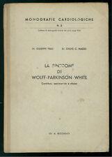 FRAU GIUSEPPE MAGGI GIULIO SINDROME DI WOLFF-PARKINSON-WHITE RECORDATI AUTOGRAFO
