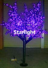 6ft Outdoor LED Christmas Light Cherry Blossom Tree Holiday Home Decor Purple