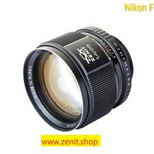Zenit Zenitar 1,4/85 Lens Objektiv Nikon F Mount NEW