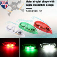 3pcs/set Drone Flash LED Wireless Light for RC Fix Wing Airplane Helicopter US