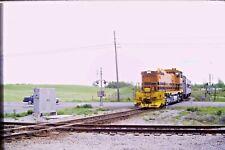 Kodachrome Original Slide Genesse & Wyoming Passenger Extra (1990) #CC959