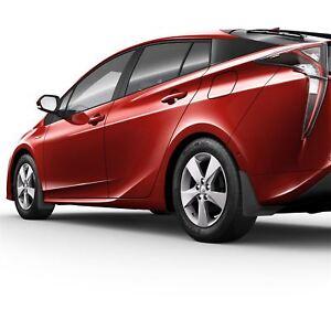 Genuine Toyota Prius Plug in Prime Front & Rear Mud Flaps Mudflaps Set 2015 On