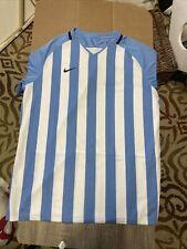 Nike Striped Division Iii Soccer Jersey 894096-448 Men Sz Xl Argentina Blank Kit