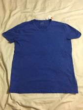 NWT Mens Large Gap Blue Lived-In V Neck Shirt