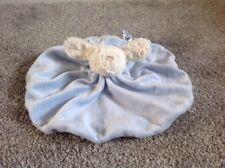 Jellycat Blue White Puppy Dog Comforter Blankie Round Circle ❤️