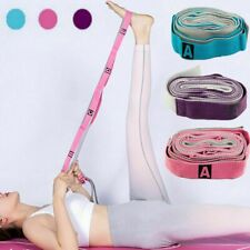 Women Physical Therapy and Yoga Loops Stretching Strap Exercise Resistance Band