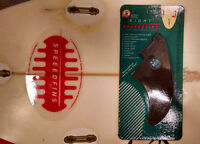 SPEEEDFINS SF-0005F Surfboard FibreGlass-Nylon Fin Right
