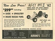 Vintage 1962 Aurands Alley Kat II Go-Kart Ad