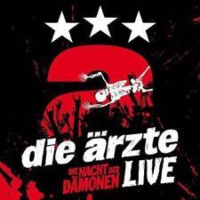 Die Ärzte - Live - Die Nacht Der Dämonen (3 CD) (2013) wie NEU!!!