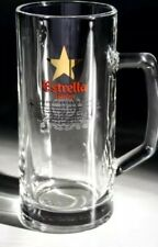 Estrella Damm 50cl Imported Glass Tankard