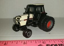1/64 CUSTOM ERTL FARM TOY CASE 2wd 2594 TRACTOR W/ CLEAR DETAILED CAB & DUALS