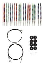 OPTIONS INTERCHANGEABLE MOSAIC WOOD CIRCULAR KNITTING NEEDLES SET by KNIT PICKS