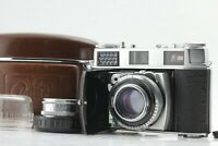 *Near Mint* Kodak Retina IIIC Film Camera w/ Schneider 50mm f2 & 35mm f5.6 #582