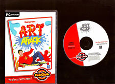 ART ATTACK. EXCELLENT ART/PAINTING SOFTWARE PROGRAM FOR THE PC!!