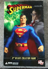 "DC DIRECT 13"" DELUXE COLLECTOR EDITION SUPERMAN WITH BOX 1:6 SCALE"