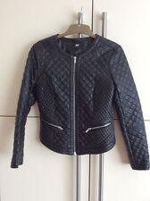 H&M Hip Length Biker Jackets for Women