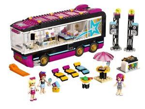 """LEGO Friends """"Pop Star Tour Bus"""" 100% Complete - NO BOX **FREE P&P**"""