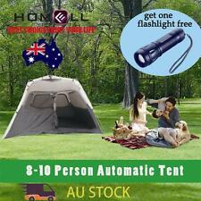 TEN109&FL601 8 Person Auto Instant Pop Up Outdoor Waterproof Family Camping Tent