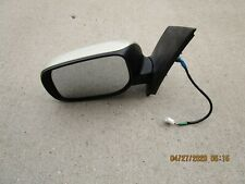 07-11 TOYOTA YARIS 4D SEDAN DRIVER LEFT SIDE ELECTRIC POWER EXTERIOR DOOR MIRROR