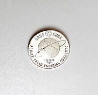 Sammelmünze - 5 Pesos  Primer Vuelo Espacial Conjunto 999 Silber
