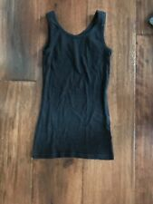 Justice Black Tank in Girls Size 12