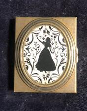 Disney Snow White Silhouette Bronze Pill Box