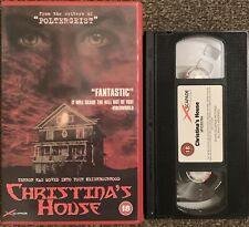 CHRISTINA'S HOUSE-HORROR/THRILLER-VHS VIDEO BIG BOX EX RENTAL XSC 024.