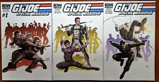 GI Joe Special Missions #1, #2, #4 IDW 2013 VF Comics - Sean Chen Variants