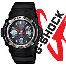 Casio Men's G-Shock AWGM100-1ACR Solar Atomic Digital Sports Watch Black New