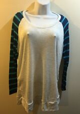 RUE+ 21  WOMEN'S STRIPED TOP/blouse Long Sleeves  Size 3XL New