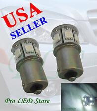 1156 1459 Super White 9 SMD BA15S LED Turn Signal Bulbs Lights 12V
