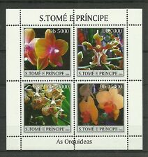 ORCHIDEEN/ St.Tome+Princ. MiNr 2579/82 ** ZDBG