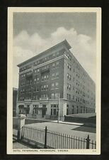 HOTEL PETERSBURG VIRGINIA USA 1939 POSTED PPC