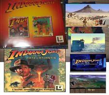 Indiana Jones and the Fate of Atlantis und der letzte Kreuzzug PC in 1 Auktion