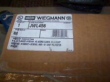 Wiegmann Hubbell JWL456 flanged wireway 45 degree, N12