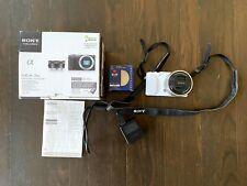 Sony Alpha NEX-3NL 16.1MP Micro 4/3 DSLR Camera - White w/Sony E PZ 16-50mm Lens
