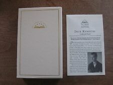 THE COLLECTED POEMS of Jack Kerouac - library of america  1st printing - FINE