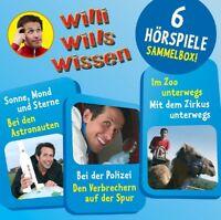 WILLI WILLS WISSEN - (2)SAMMELBOX MIT 6 HÖRSPIELEN 3 CD NEU