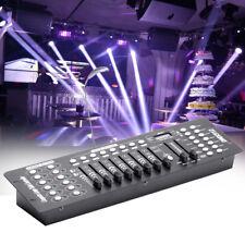 192 Channels Stage Light Controller Console DMX 512 Party DJ Disco KTV Lighting