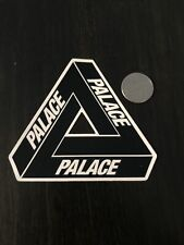New Palace Skateboards Black Logo Sticker Skateboard Laptop Yeti Car Decal